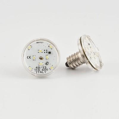 E14 LED LAMP 11 LEDS 60V VERDE SIGILLATO