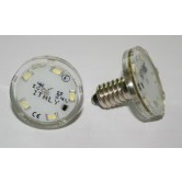 LAMPADA LED E10 5+3 LED  24V 1W  BIANCO FREDDO SIGILLATO