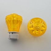 CABOCHON E10 COMPLETE SCREW TYPE YELLOW